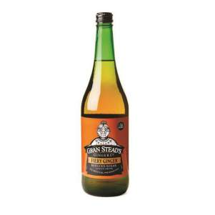 Имбирное вино безалкогольный имбирный напиток острый Гран Стедс (Gran Steads Fiery Ginger), 750мл