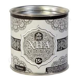 Натуральная чёрная хна для бровей и биотату Гранд Хенна (Grand Henna), 15г