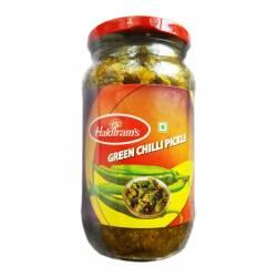 Пикули Халдирамс Зеленый Чили (Haldiram's Green Chilli Pickle), 400г