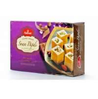 Индийские Сладости Халдирамс Соан Папди (Haldiram's Soan Papdi Flaky Sweet With Almonds&Pistachios), 250г