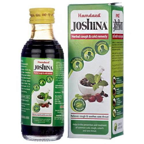 Сироп от кашля Джошина Хамдард (Hamdard Joshina Herbal Cough&Cold Remedy), 100мл