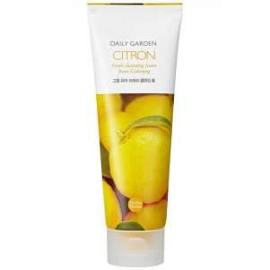 Очищающая пенка для лица Дэйли Гарден цитрус (Holika Holika Daily Garden Citron Soothing Cleansing Foam), 120мл