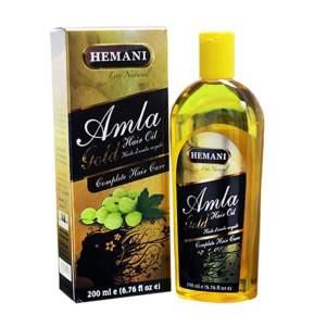 Масло Амла Голден бокс для волос Хемани (Amla Golden Box Oil HEMANI), 200мл