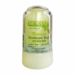 Минеральный дезодорант с Алое Вера Химани (Deodorant Stick with Aloe Vera Hemani), 70г