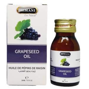 Масло виноградной косточки Хемани (Grape Seed Oil Hemani), 30мл