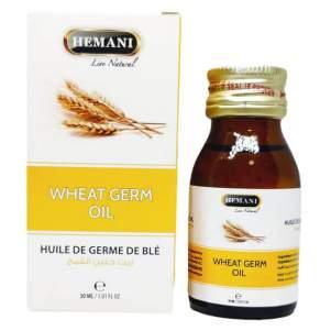 Масло зародышей пшеницы Хемани (Wheat Germ Oil Hemani), 30мл