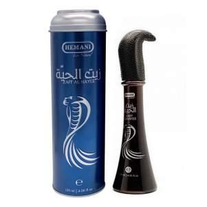 Змеиное масло для волос с жиром кобры Хемани (Zait Al Hayee Hemani), 120мл