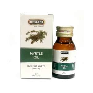 Масло Мирты Хемани (Myrtle Oil Hemani), 30мл