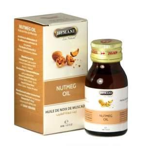 Масло Мускатный орех Хемани (Nutmeg Oil Hemani), 30мл