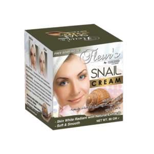 Омолаживающий крем для лица Улитка Химани (Snail cream Hemani), 80мл