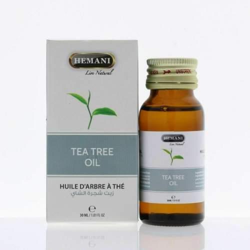 Масло Чайного Дерева Хемани (Tea Tree Oil Hemani), 30мл