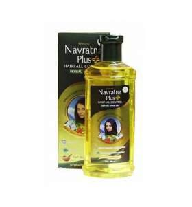 Масло против выпадения волос охлаждающее Навратна плюс Химани (Himani Navratna plus oil), 200мл - УЦЕНКА
