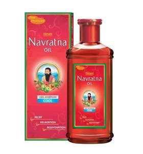 Аюрведическое масло для массажа и волос, охлаждающее Навратна Химани (Himani Navratna oil), 200мл - УЦЕНКА