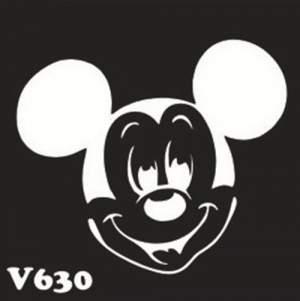 Многоразовый трафарет для мехенди V630