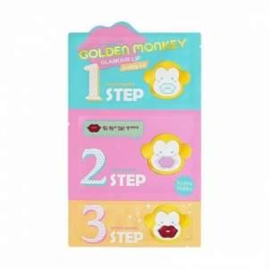 3-х ступенчатый набор средств для ухода за губами Гламур лип (Holika Holika Glamour Lip), 2г+2,5г+1г
