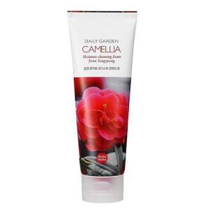 Очищающая пенка для лица Дэйли Гарден камелия (Holika Holika Daily Garden Camellia Soothing Cleansing Foam), 120мл