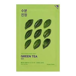 Тканевая маска для лица зеленый чай (Holika Holika Pure Essence Mask Sheet Green Tea), 20мл