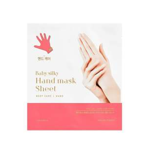 Тканевая маска для рук Бейби Силки Холика Холика (Holika Holika Baby Silky Hand Mask Sheet), 2x15мл