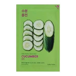 Тканевая маска для лица с огурцом (Holika Holika Pure Essence Mask Sheet Cucumber), 20мл