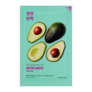 Тканевая маска для лица с авокадо (Holika Holika Pure Essence Mask Sheet Avocado), 20мл