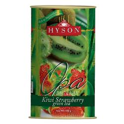 Чай зеленый листовой Киви Клубника Хайсон (Hyson Green tea Kiwi Strawberry), 100г
