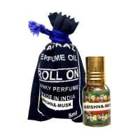 Духи-масло Кришна Муск Индийский Секрет (The Indian Secret Natural Perfume Oil Krishna Musk), 5мл