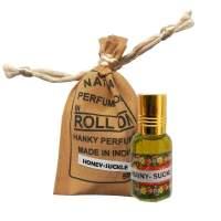 Духи-масло Жимолость Индийский Секрет (The Indian Secret Natural Perfume Oil Honeysuckle), 5мл