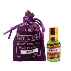 Духи-масло (шариковые) Нероли Индийский Секрет (The Indian Secret Natural Perfume Oil Neroli), 5мл