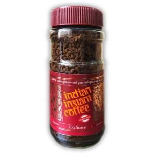 Кофе растворимыйгранулированныйИндиан Инстант Кофе Эксклюзив (Indian Instant Coffee Exclusive Granulated), 100г