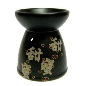 Аромалампа с иероглифами керамика, 9см
