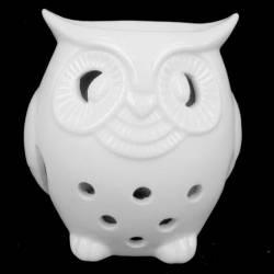 Аромалампа Сова керамика, 10,5см