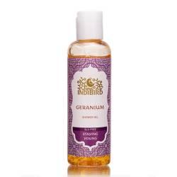 Гель для душа Герань без сульфатов Индибирд (Geranium Shower Gel SLS-free Indibird), 100мл