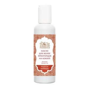 Масло для волос Брингарадж на кокосе Индиберд (Indibird Bhringraj Coconut Oil), 150мл
