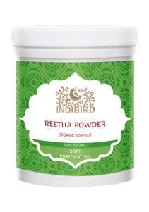 Порошок мыльных орехов Индиберд (Indibird Reetha powder), 100г
