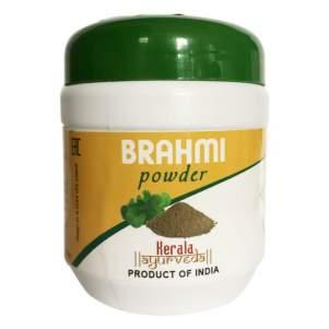 Порошок Брахми Керала Аюрведа (Brahmi powder Kerala Ayurveda), 100г