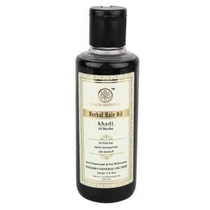 Масло для волос 18 трав Кхади (Khadi 18 Herbs Hair Oil), 210г