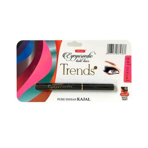 Натуральная подводка-карандаш с кокосовым и маслом гхи Розовая Кходжати Трендс (Precious Pink Liner Khojati Trends), 0,25г