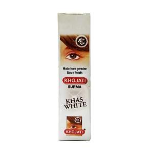 Натуральная сурьма для глаз Кходжати Белая (Natural Khojati Surma Khas White), 5г