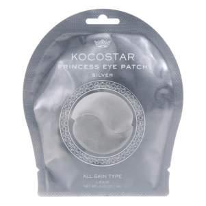 Гидрогелевые патчи для глаз серебряные Kocostar (Princess Eye Patch Silver), 2шт