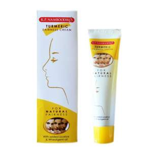 Осветляющий крем для лица с куркумой (K.P.Namboodiri's Turmeric Fairness Cream), 25г