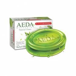 Глицериновое мыло Природная зелень АЕДА (K.P.Namboodiri's Natural green AEDA Glycerine), 75г