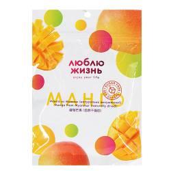 Манго из Мьянмы натурально высушенный Люблю Жизнь (Mango from Myanmar naturally dried I Love Life), 80г