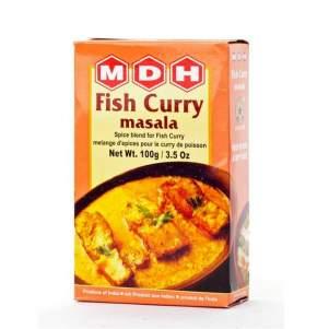 Смесь специй Фиш Карри Масала Махашиан Ди Хатти (MDH Fish Curry Masala), 100г