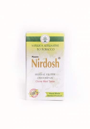 Аюрведические ингаляторы с фильтром Нирдош (Nirdosh), 10шт