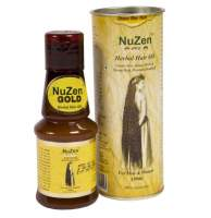 Лечебное травяное масло для роста волос НуЗен Голд (NuZen Gold Herbal Hair Oil), 100мл