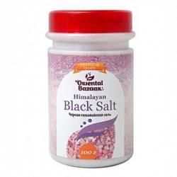 Чёрная гималайская соль Ориентал Базар (Black Himalayan Salt Oriental Bazaar), 100г