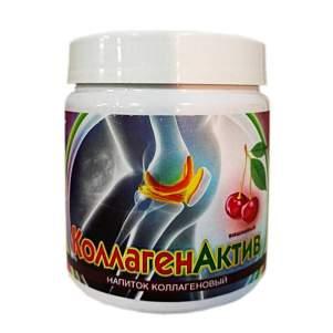 Коллагеновый белковый напиток КоллагенАктив со вкусом вишни, 300г