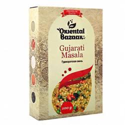 Гуджаратская смесь Ориентал Базар (Gujarati Masala Oriental Bazaar), 100г