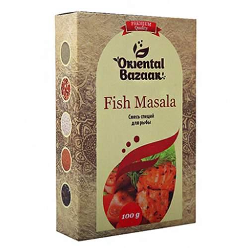 Смесь специй для рыбы Ориентал Базар (Fish Masala Oriental Bazaar), 100г