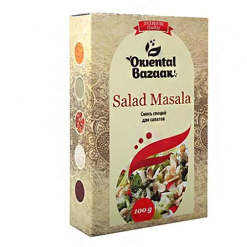 Смесь специй для салатов Ориентал Базар (Salad Masala Oriental Bazaar), 100г